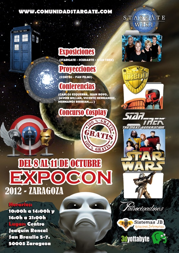 Cartel Oficial Expocon